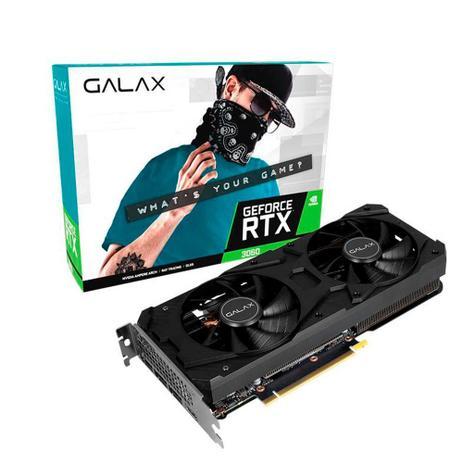 PLACA DE VIDEO GALAX NVIDIA GEFORCE RTX3060, 12G, GDDR6 - 36NOL7MD1VOC