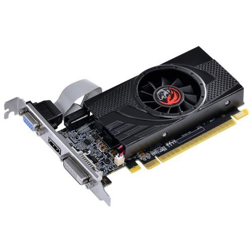 PLACA DE VÍDEO PCYES GT730 4GB DDR5, 64 BITS, VGA, HDMI, DVI - PA7304DR654LP