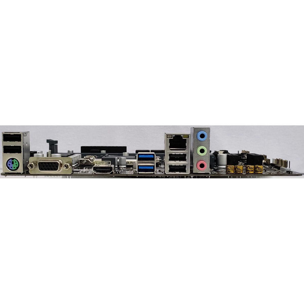 PLACA MAE PCWARE IPMH410G, DDR4, VGA, HDMI, USB 3.2, 10GERAÇAO, SUPORTE PARA M2 LGA 1200