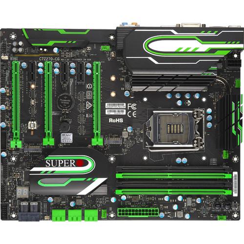 PLACA MAE SUPERMICRO Z270-CG ATX - INTEL 7A. GER. (1151) - DDR4 - MBD-C7Z270-CG-O