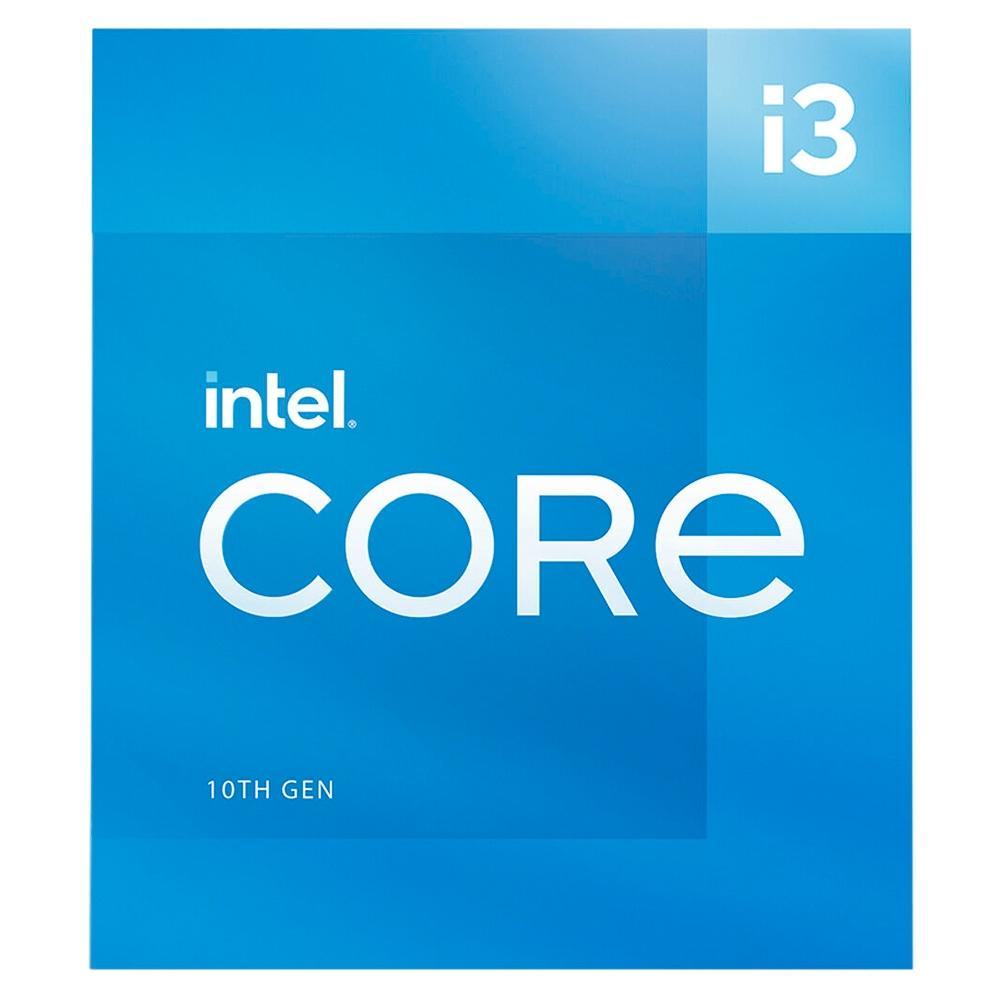 PROCESSADOR INTEL CORE I3-10105, LGA 1200, 3.7 GHZ (4.4GHZ MAX TURBO), 6 MB CACHE - BX8070110105