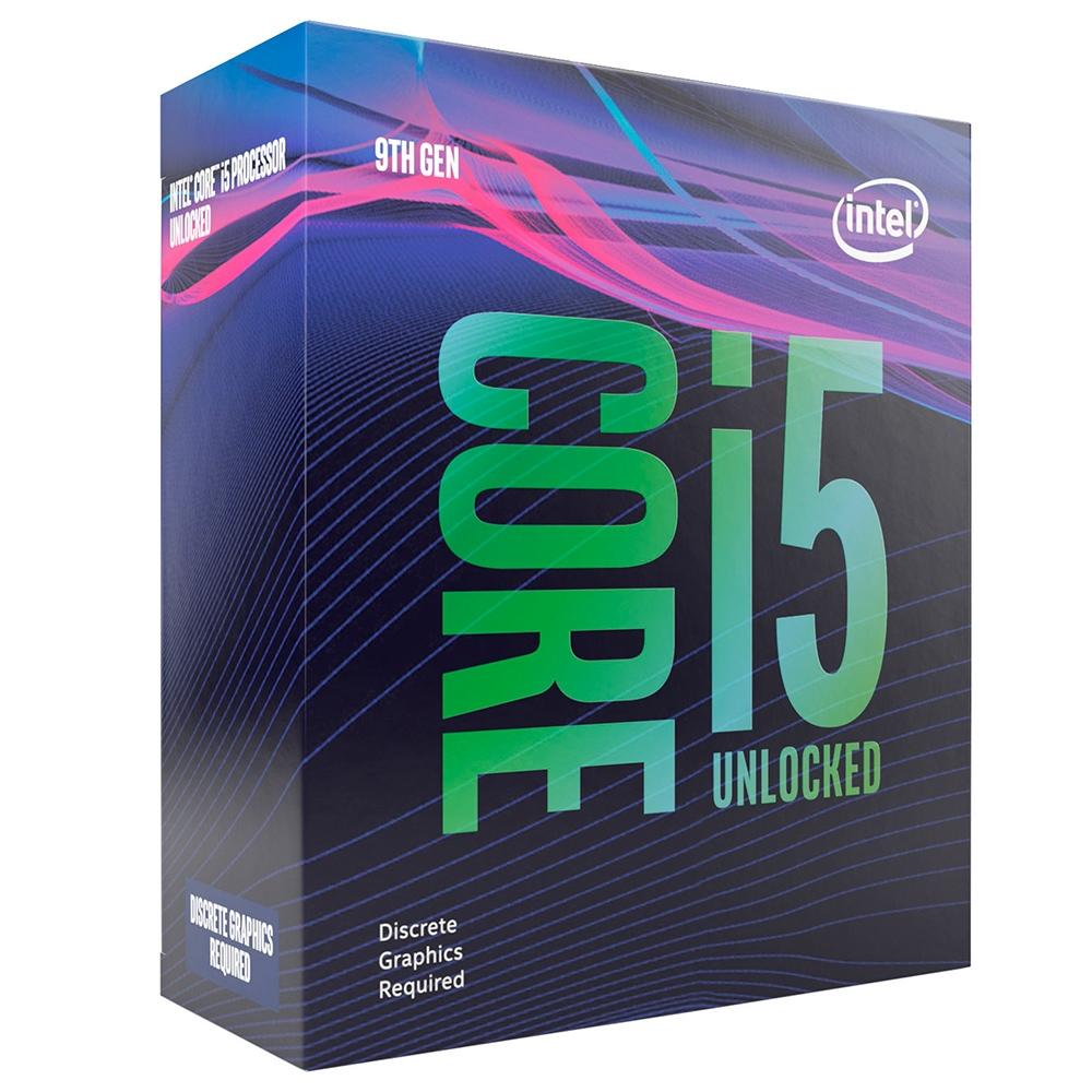 PROCESSADOR INTEL CORE I5-9600KF, 3.7 GHZ, 9MB CACHE, LGA 1151, SEM COOLER - BX80684I59600KF