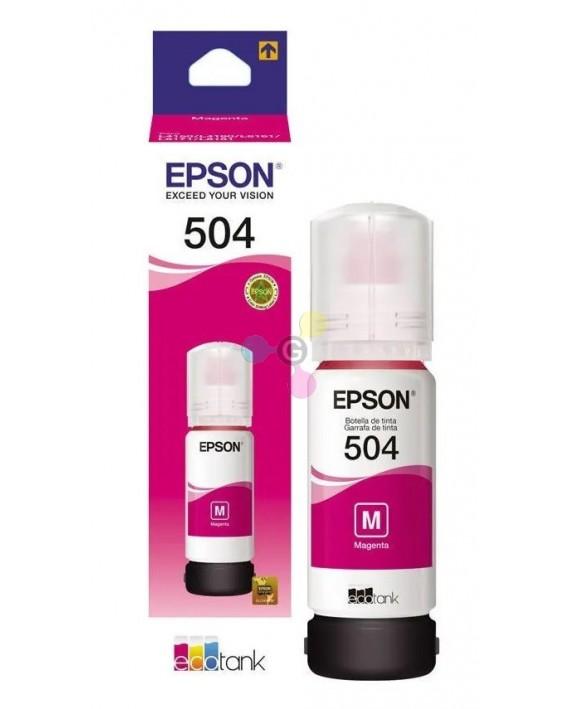 REFIL TANQUE DE TINTA EPSON T504 T504320-AL MAGENTA L4150/60/617