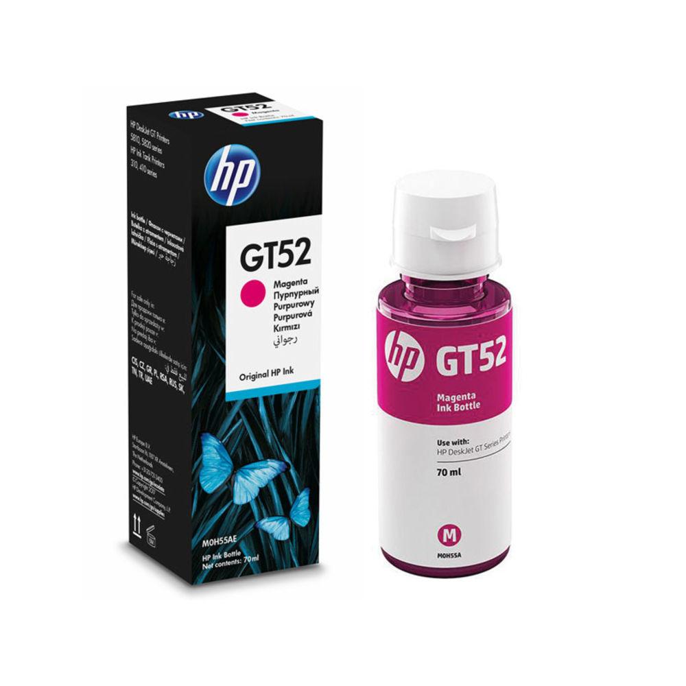 REFIL TANQUE DE TINTA HP GT52 M0H55AL  MAGENTA 70ML