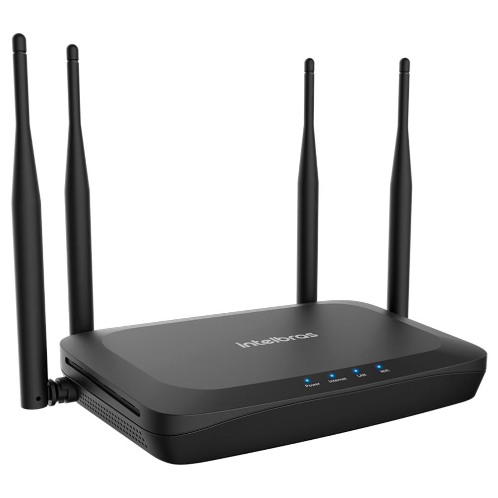 ROTEADOR WIRELESS INTELBRAS GF 1200, DUAL BAND, 1167MBPS, 4 ANTENAS