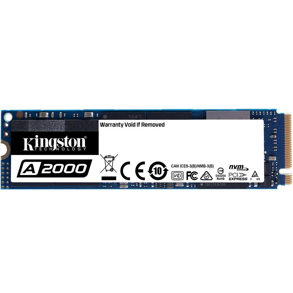 SSD M2 KINGSTON 250GB LEITURA 2000MB/S - SA2000M8/250G