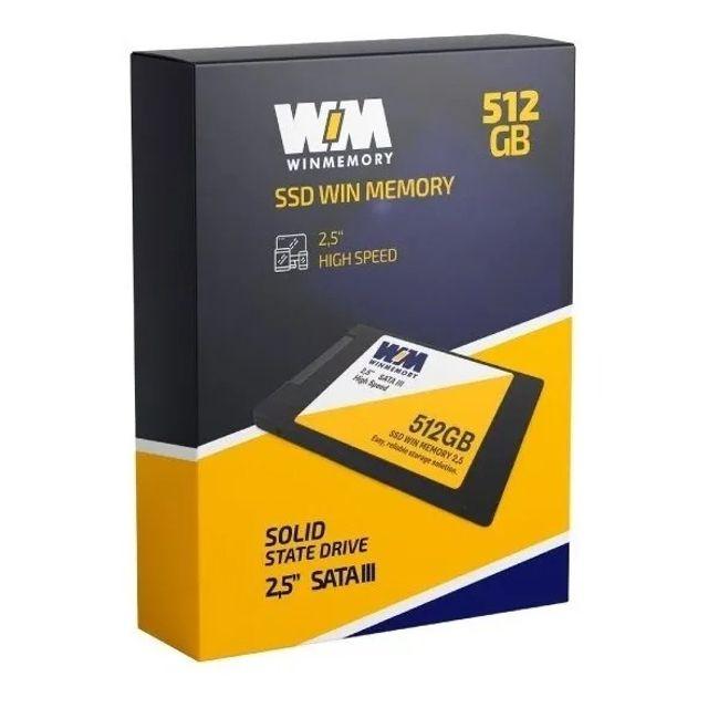 SSD WINMEMORY 512GB SATA III, 2,5'