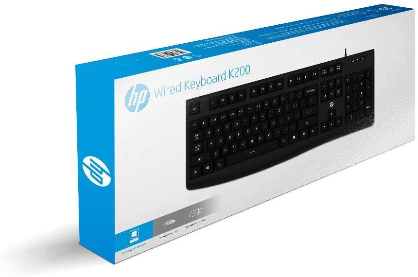 TECLADO HP K200 USB, PRETO