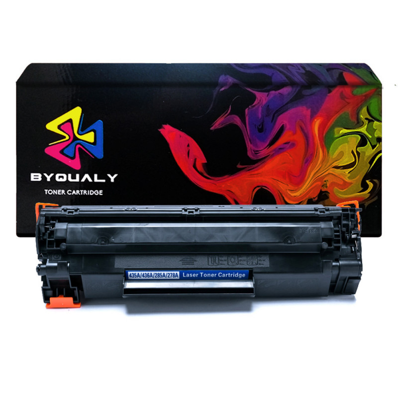 TONER HP 35/36/85/78A COMPATIVEL BYQUALY