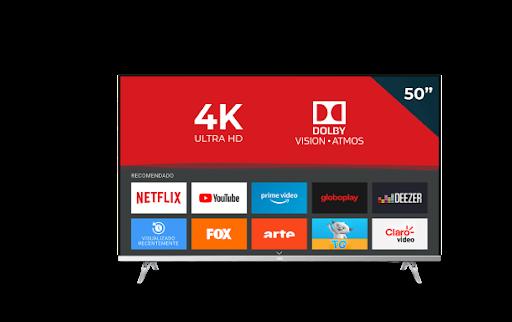 TV 50P AOC LED SMART 4K WIFI USB HDMI 50U6305