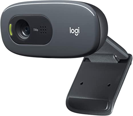 WEBCAM LOGITECH C270 HD, 720P, 30 FPS, COM MICROFONE