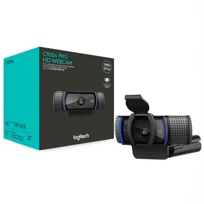 WEBCAM LOGITECH C920S PRO FULL HD 1080P C/ MICROFONE ESTEREO