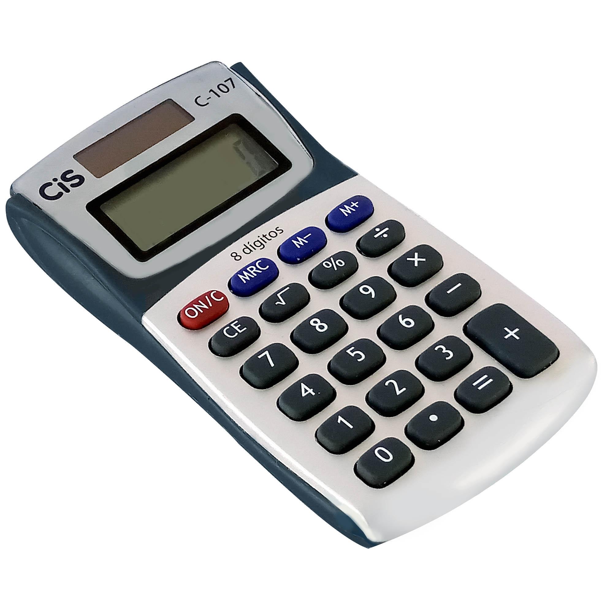 Calculadora de Bolso 8 Digitos C-107/8 - Cis