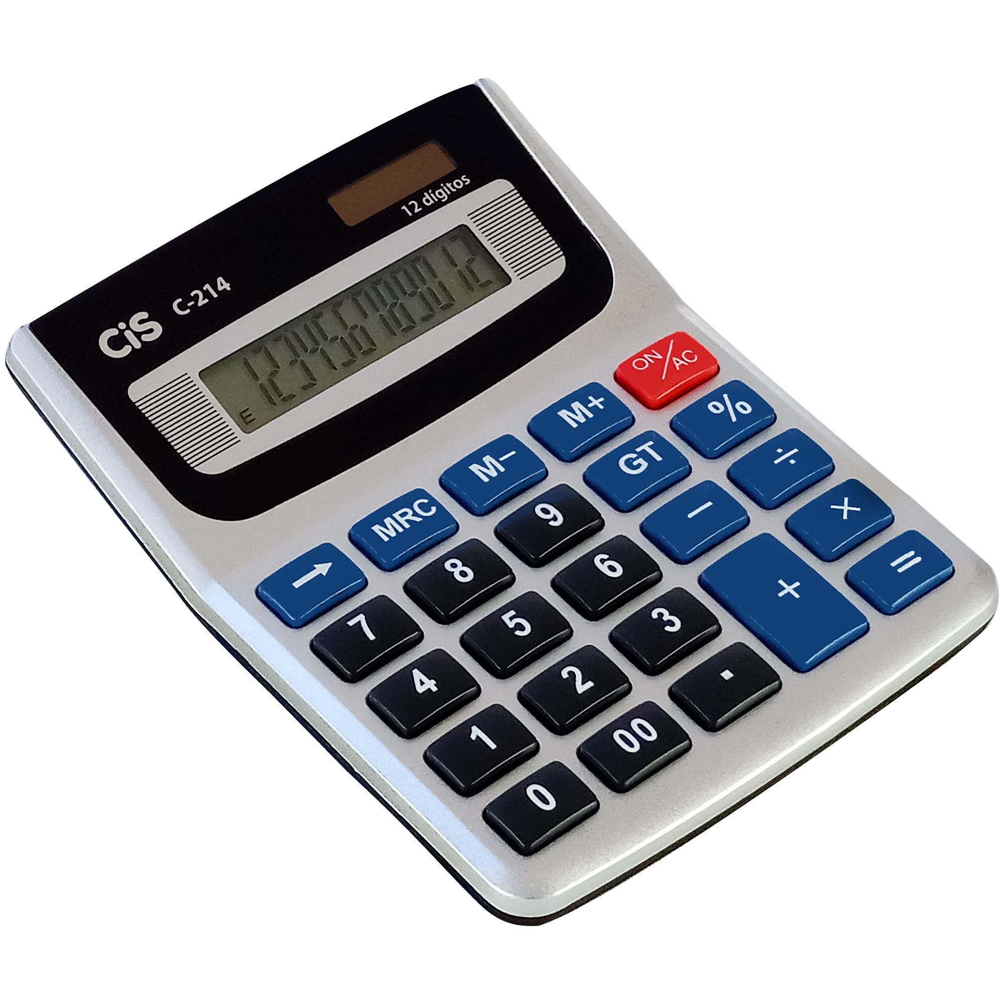 Calculadora de Mesa 12 Digitos C-214 - Cis