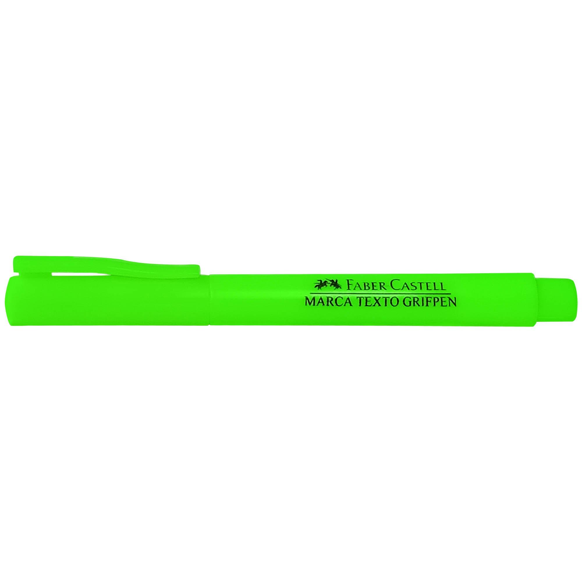 Caneta Marca Texto Grifpen Cor Verde MT/VDZF - Faber Castell