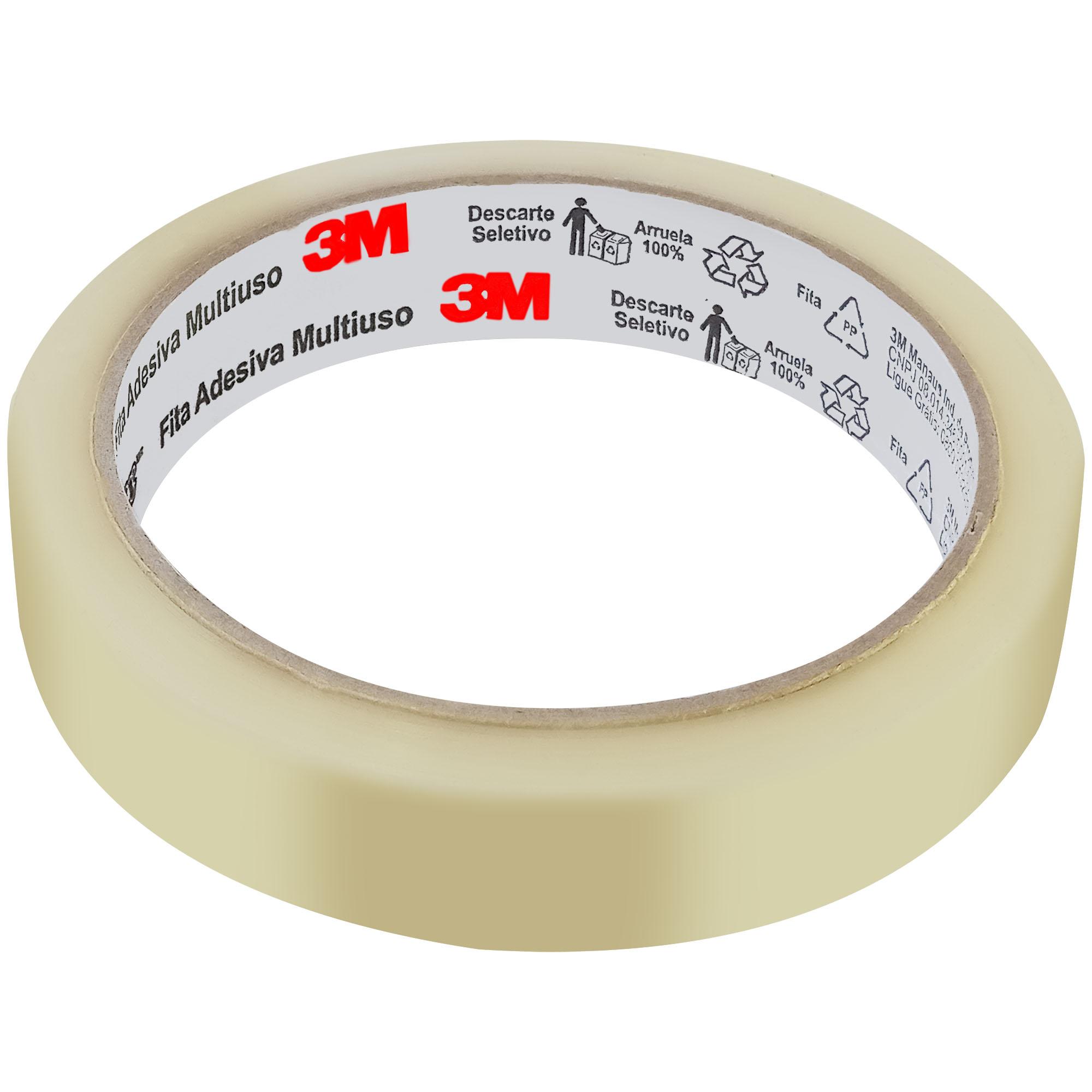 Fita Adesiva Transparente DUREX 18MMX50M HB004159396 - 3M