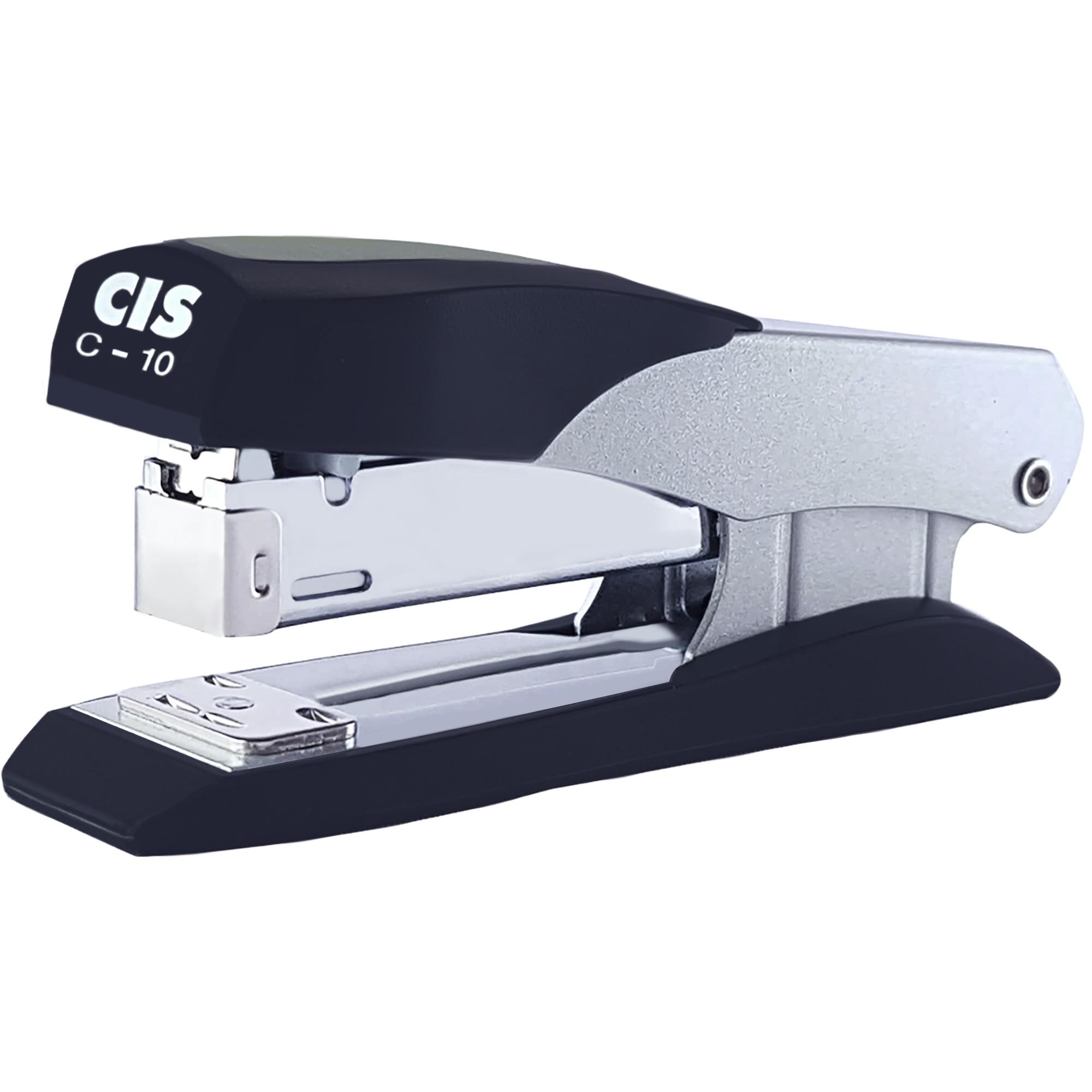 Grampeador de Mesa para até 25 folhas Metallic C-10 - Cis