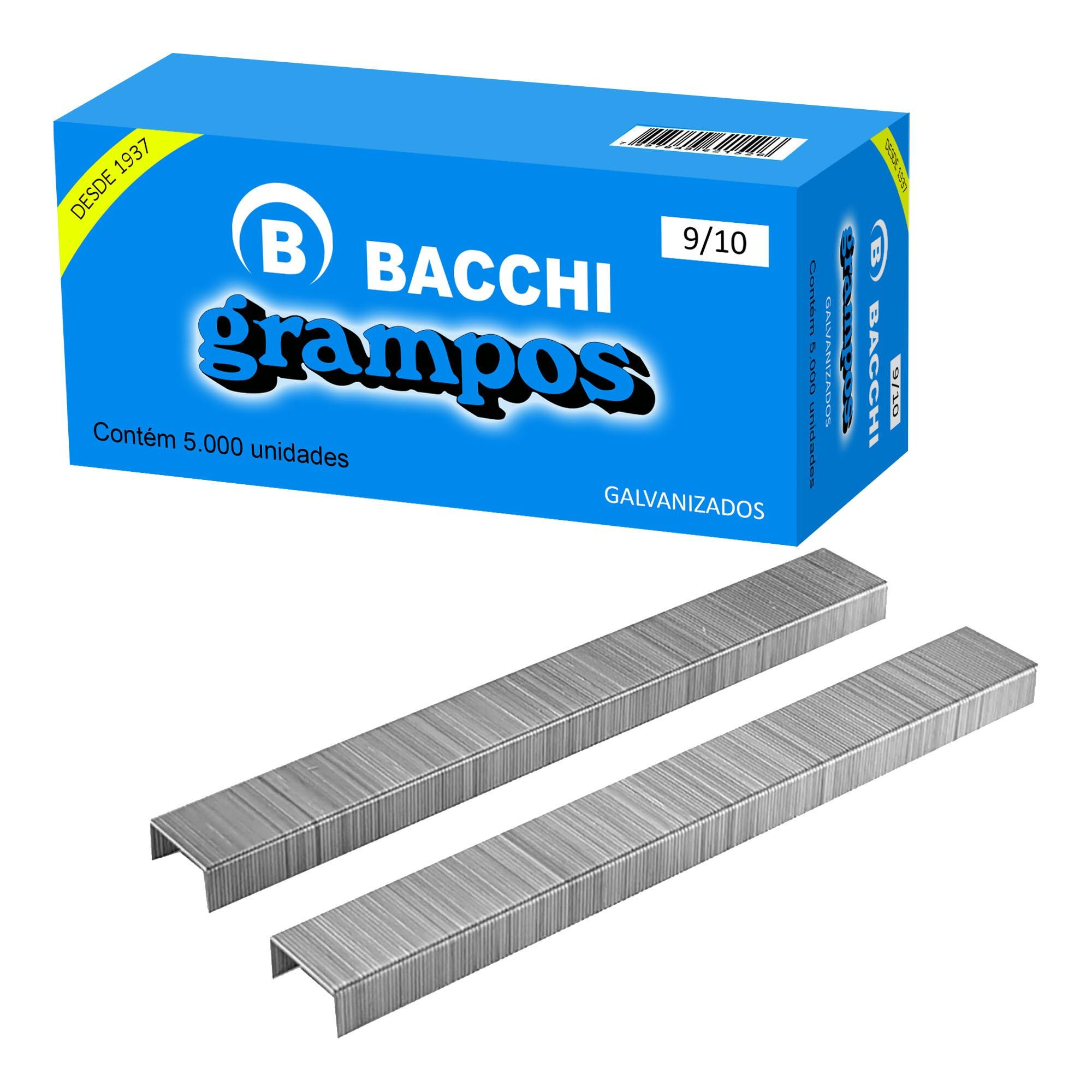 Grampo Galvanizado 9/10 c/ 5000 un - Bacchi
