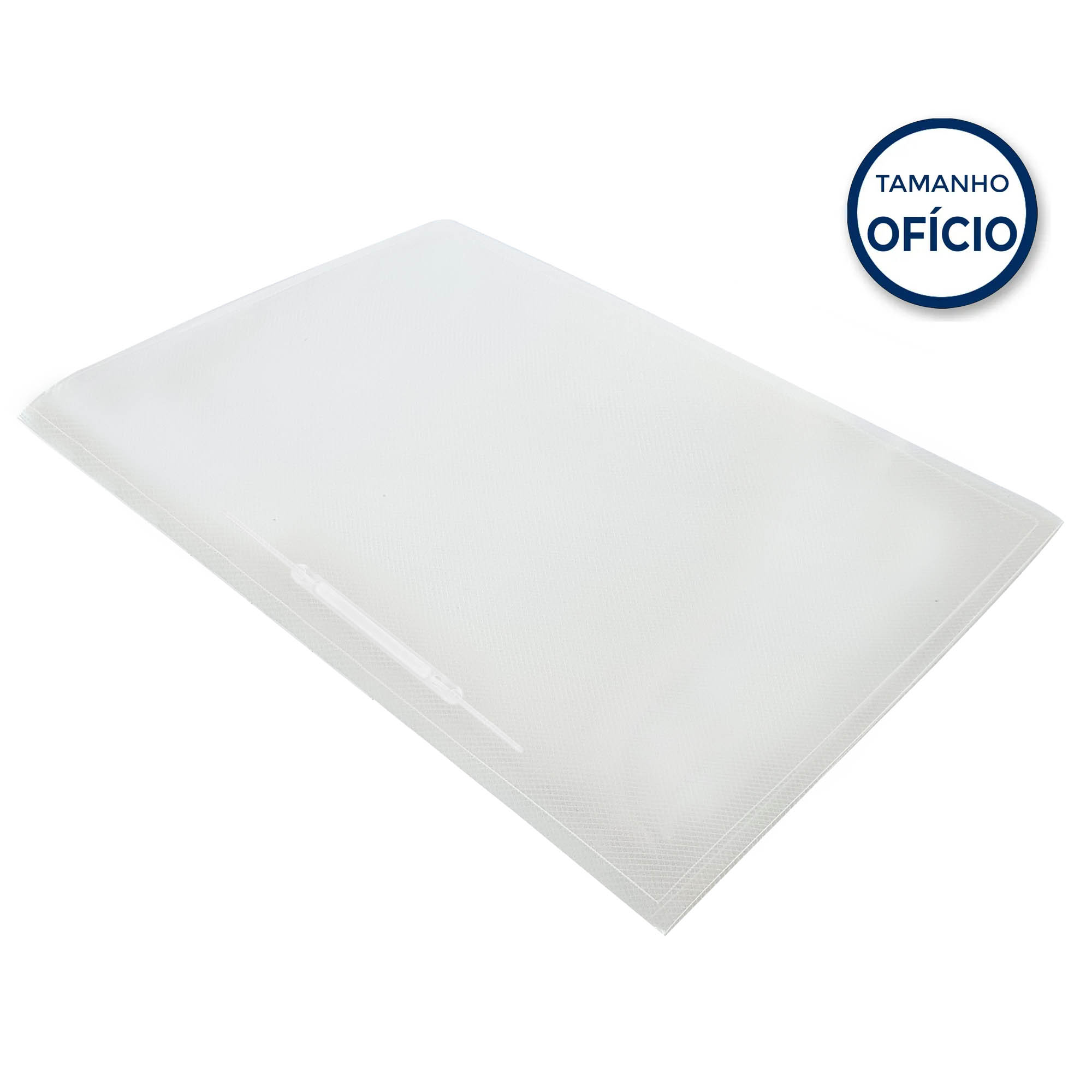Pasta c/ Ferragem Soft Cor Cristal - Polibras
