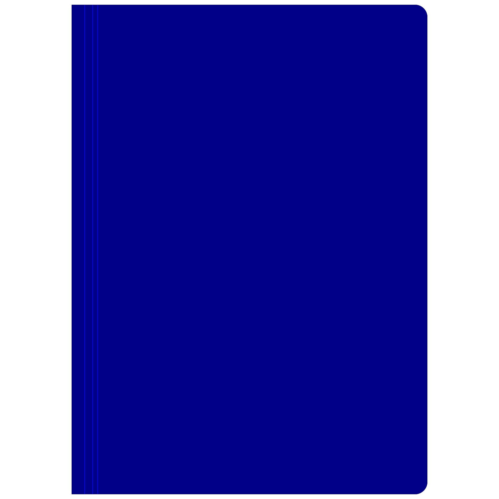 Pasta Dobrada em Cartao com Grampo Cor Azul - Dello