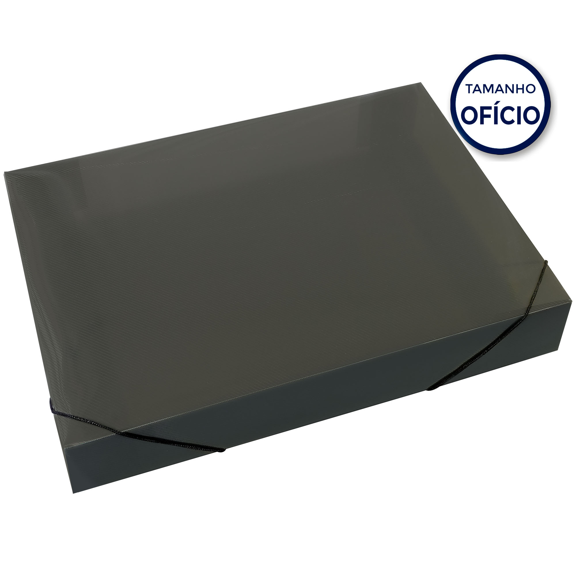 Pasta Oficio Aba Elastica 55MM Cor Fume Soft 160716 - Polibras