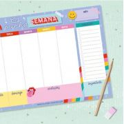 Bloco Planner Semanal Dream