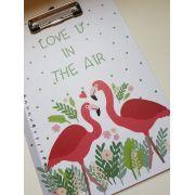 Prancheta Flamingo
