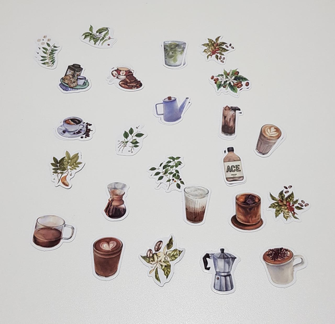 Adesivo Café