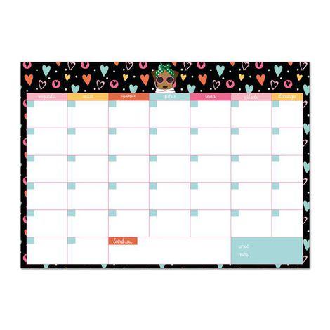 Bloco Planner Mensal Happy Caramelo