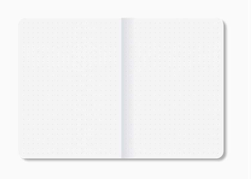 Caderneta Branco e Preto