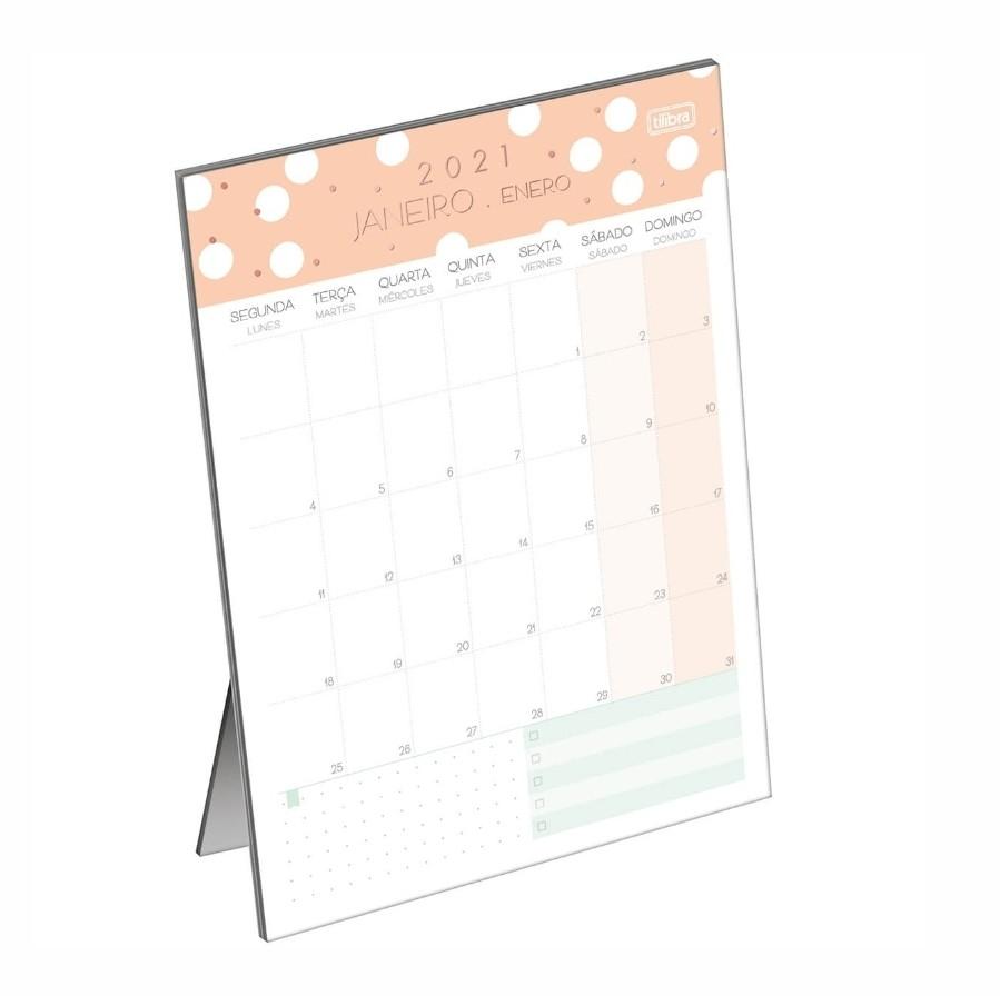 Calendário Planner de Mesa SOHO