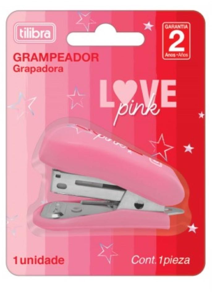 Grampeador Love Pink