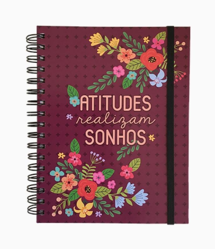 Planner Anual Floral