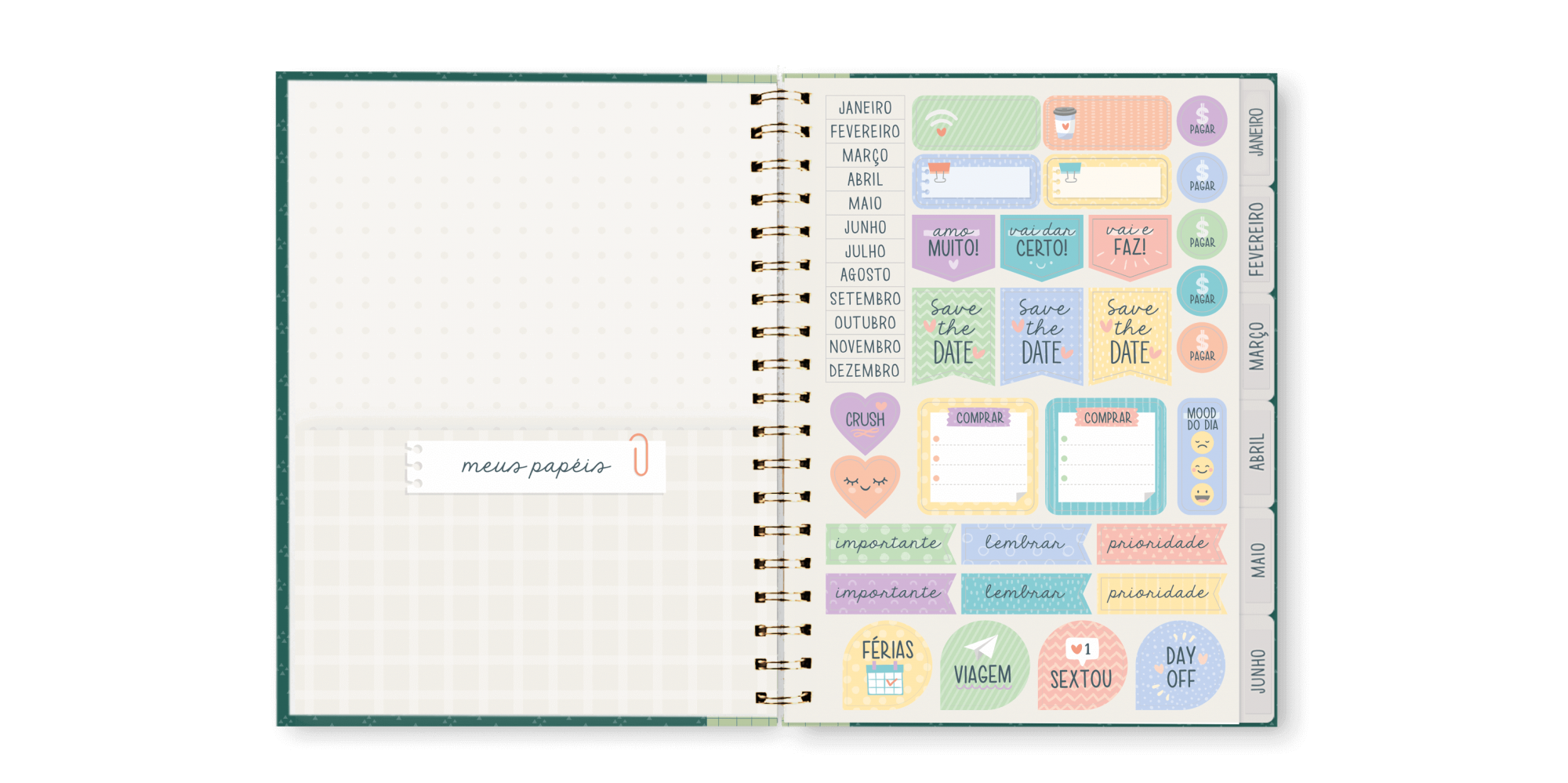 Planner Anual