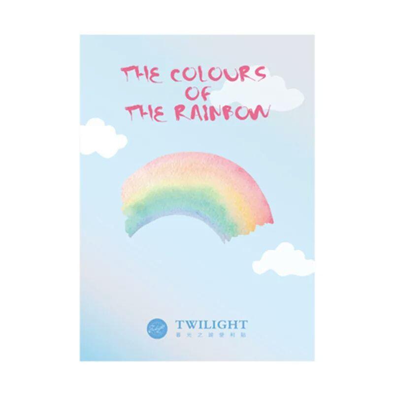 Stick  Note de Arco-íris