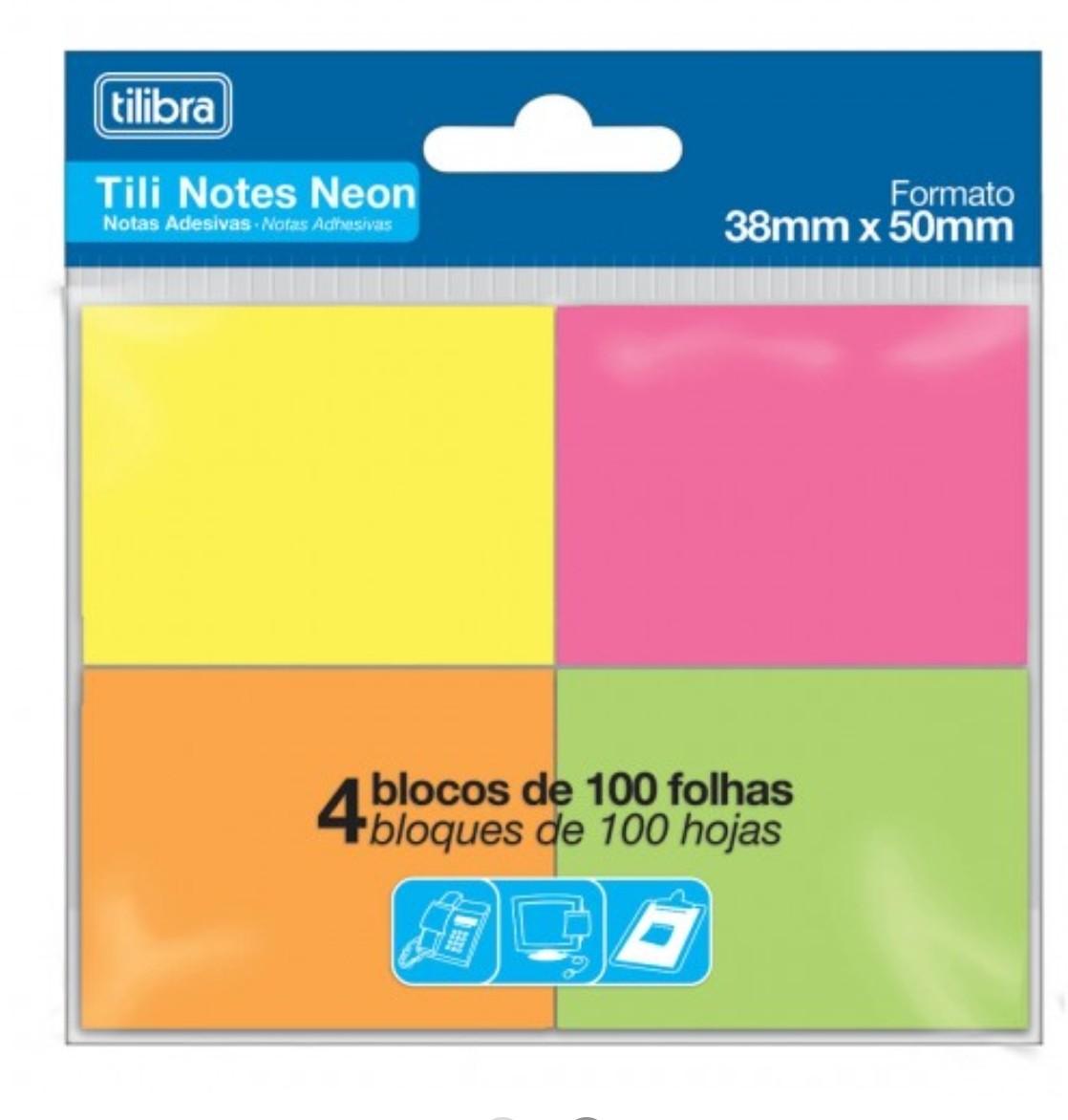 Tili Notes Neom 4 Blocos