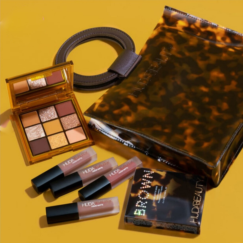 KIT BRONW OBSESSIONS COR  TOFFE BROWN - HUDA BEAUTY