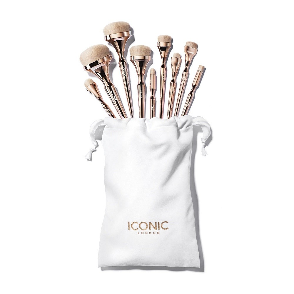 KIT DE PINCEIS HD BLEND - ICONIC LONDON
