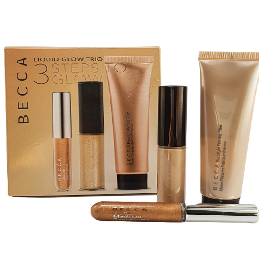 LIQUID GLOW TRIO 3 STEPS TO GLOW - BECCA