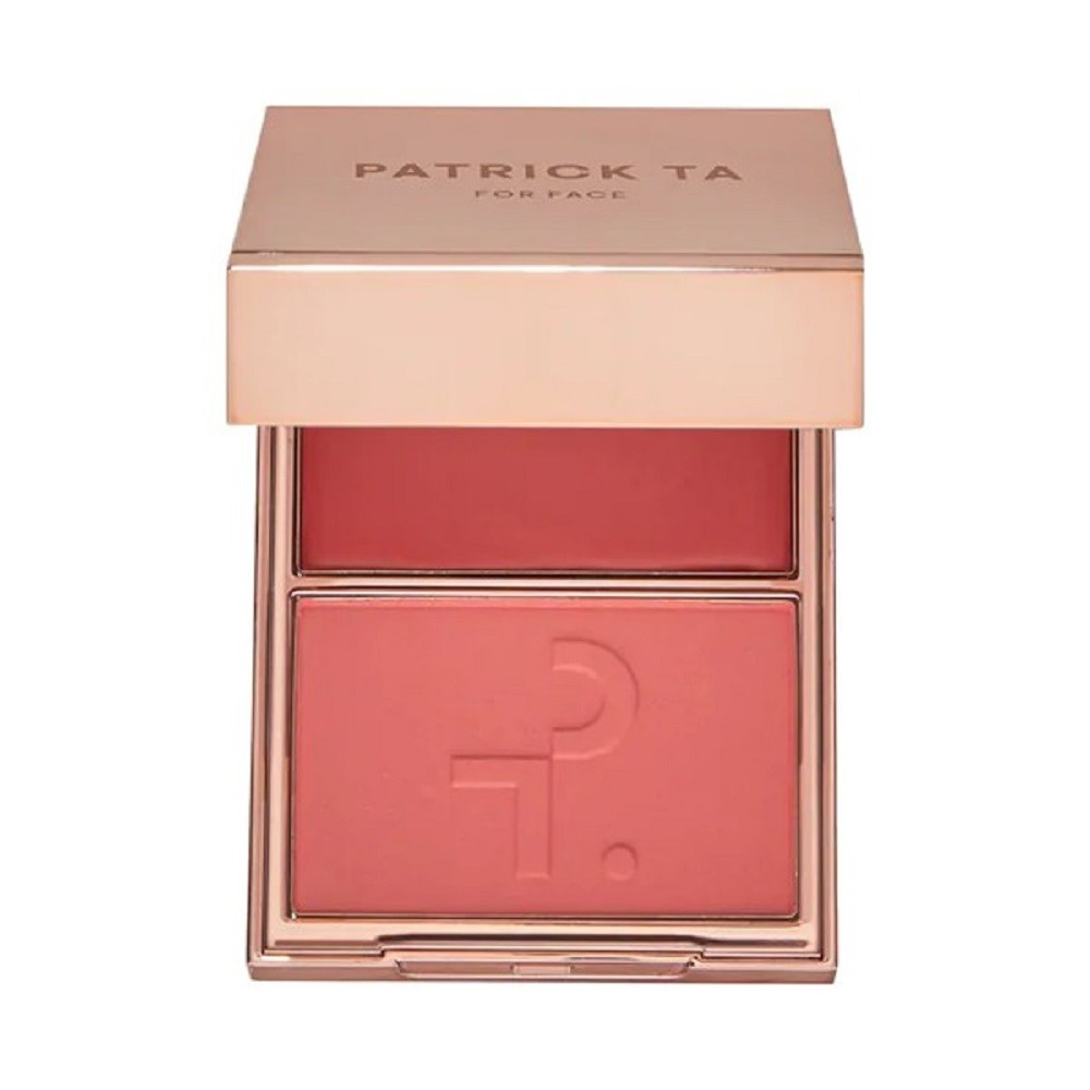 MAJOR BEAUTY HEADLINES - DOUBLE-TAKE CREME & POWDER BLUSH - PATRICK TA