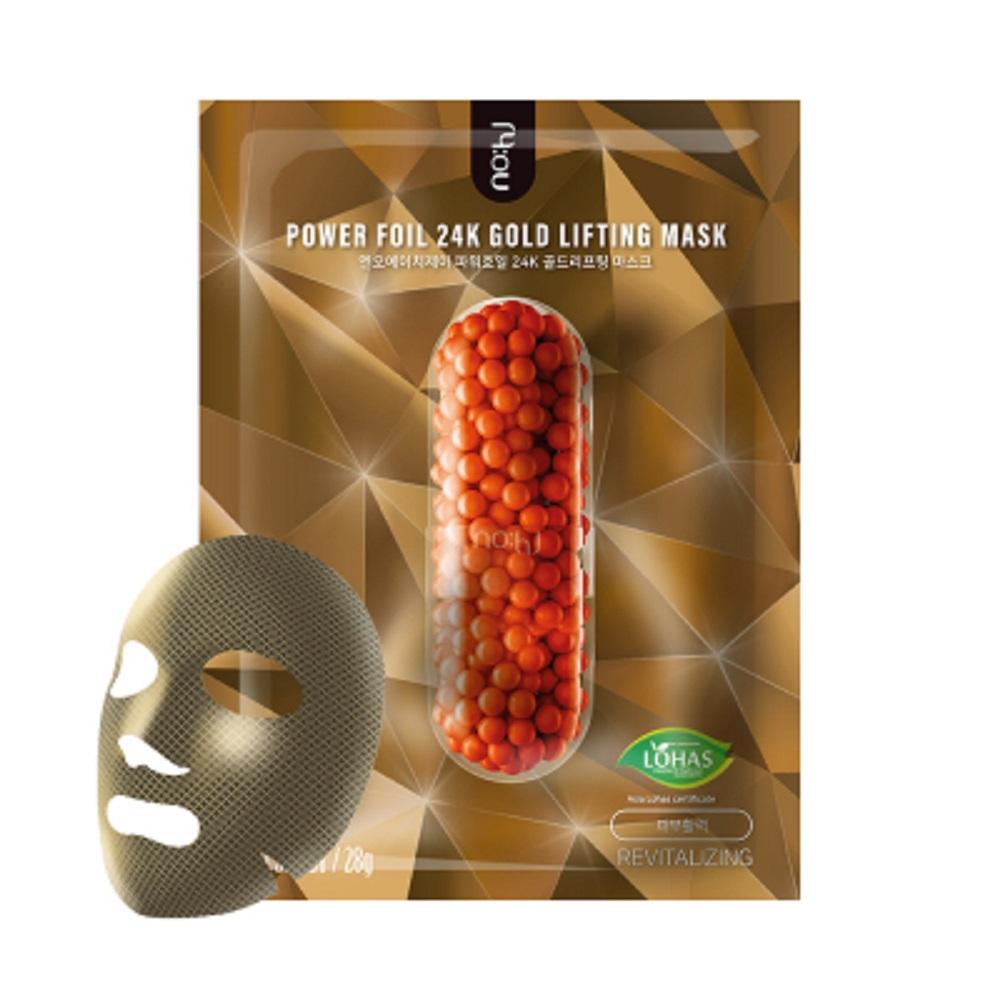 Máscara Facial Coreana Revitalizante 24k Gold Lifting - NOHJ