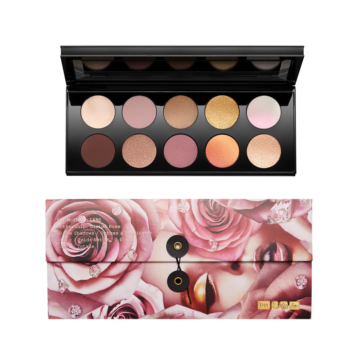 MOTHERSHIP VII EYE SHADOW PALETTE DIVINE ROSE COLLECTION - PAT McGRATH LABS