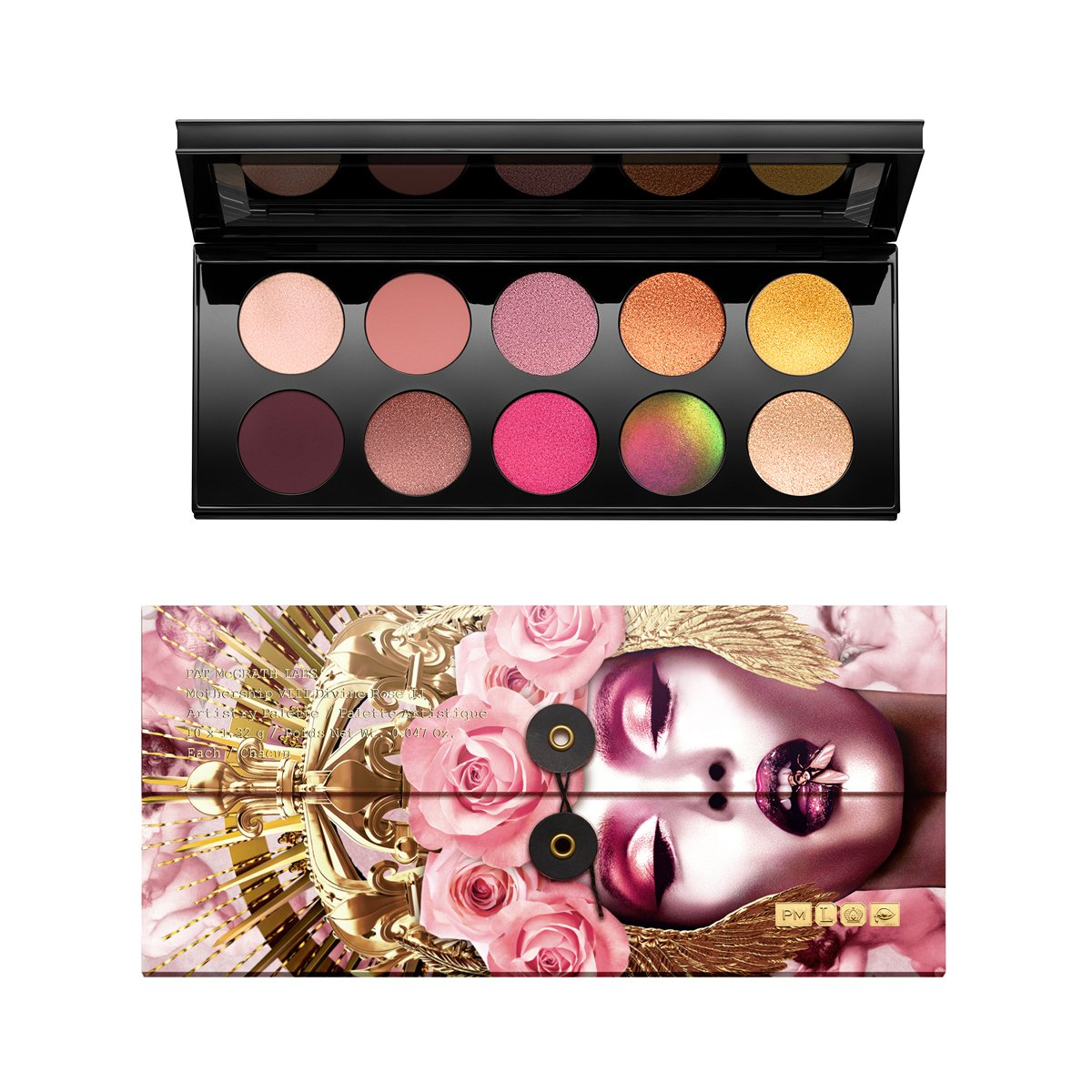 MOTHERSHIP VIII DIVINE ROSE II ARTISTRY PALETTE - PAT MCGRATH