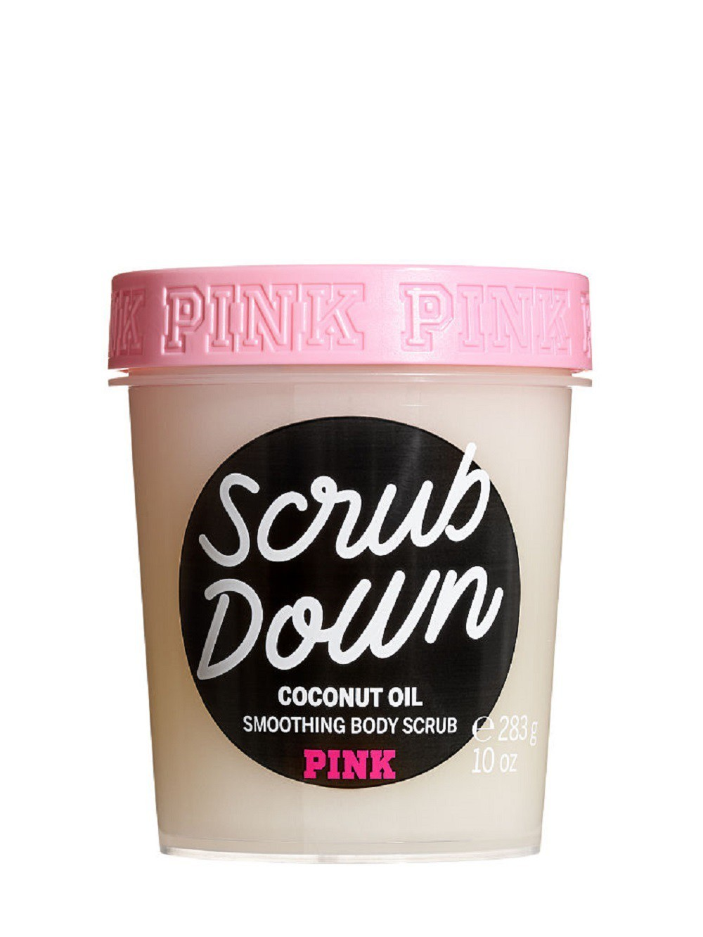 PINK SCRUB DOWN COCONUT OIL SMOOTHING BODY - VICTORIA'S SECRET