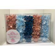 Forminha Madri Kit Comemore 7 ( Azul Bebê, Caramelho, Azul Piscina)