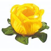 Forminha Rainha Amarelo Vivo