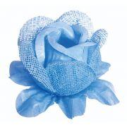Forminha Rainha Tela / Papel Azul Bebê