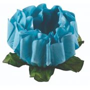 Forminha Rosa Maior Azul Piscina