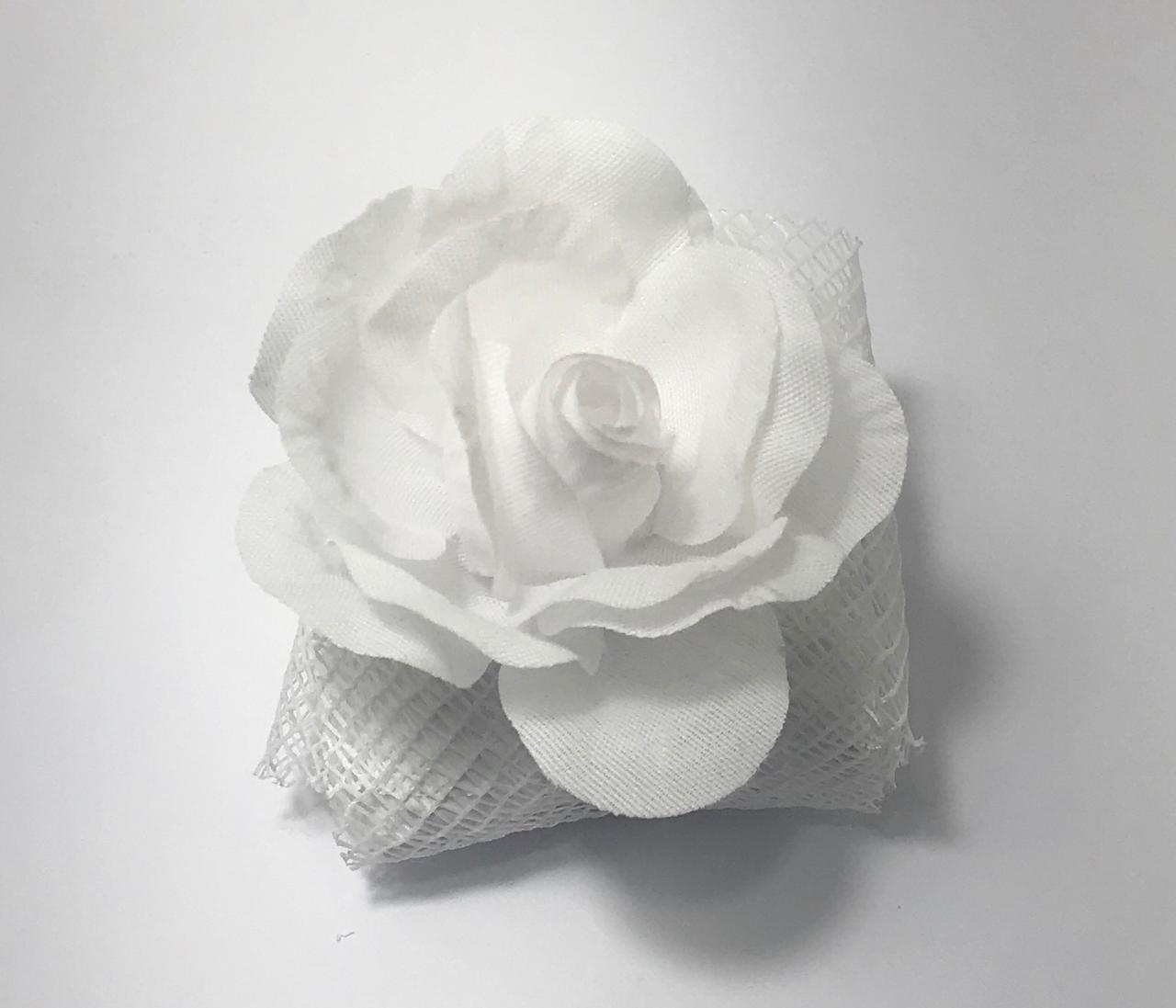 Caixas Bem Casado Rô Artesanato Cristal / Tela Branco