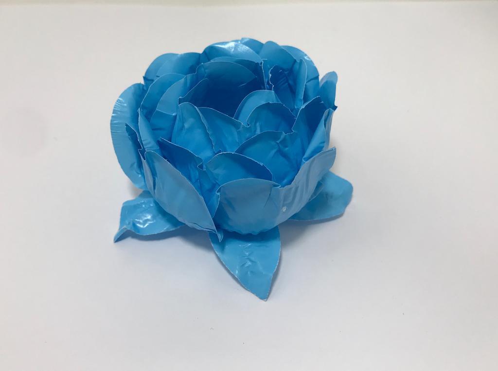 Forminha Bela Duo Azul Bebê / Azul claro